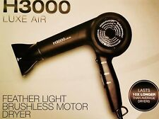 HAIRART H3000 LUXE AIR  FEATHER WEIGHT HAIR DRYER  10X LIFE SPAN 5YEAR WARRANTY