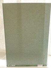 Craftstyle - 2 x A4-NATALE CARTONCINO-punti verdi-buon peso della Carta