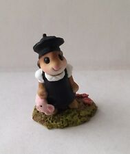 Teaberry Meadow Mon Petit Lapin Like Wee Forest Folk Mint Bunny Figurine