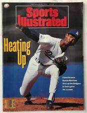 RAMON MARTINEZ September 30, 1991 Sports Illustrated Magazine  -  NO LABEL