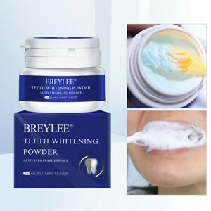 30g BREYLEE Teeth Whitening Powder Toothpaste Tooth Remover Plaque Stains