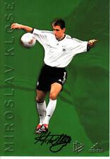 Miroslav Klose DFB Deutschland Kaiserslautern Werder Bremen Rom Bayern München.