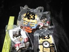 Lot 4 Despicable Me 3-Movie-#6,#10,#11-Happy Meal Toys-Minions,,Angnes Card 2017