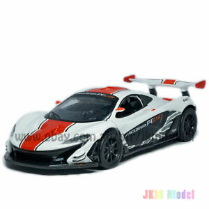 1:32 McLaren P1 GTR Model Car Alloy Diecast Toy Vehicle Collection Gift White