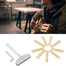 Guitar Fingerboard Fret Press Caul+9 Sizes Brass Guitar Fret Press Insert Set