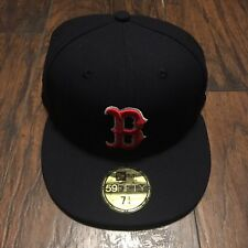 Boston Red Sox New Era 2018 World Series Side Patch 59FIFTY Fitted Hat Size 71/4