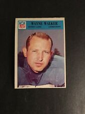 1966   PHILADELPHIA   FOOTBALL    #76   WAYNE  WALKER    NM