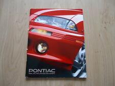 PONTIAC FIREBIRD, GRAND AM AND ANOTHERS BROCHURE / PROSPEKT 1994