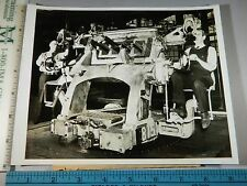 Rare Historical Original Vtg 1942 Inspectors Test Navy Gun Mounts Wwii Photo