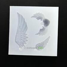 Angel Wings Pendant Silicone Mold DIY Resin Jewelry Pendant Necklace Mould Craft