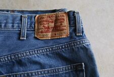 EUC Mens Levi Strauss 550 42 x 32 Red Tag Medium Denim Blue Jeans