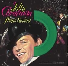 Frank Sinatra A JOLLY CHRISTMAS Holiday Music LIMITED Dol NEW COLORED VINYL LP