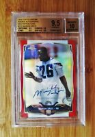 2012 Topps Chrome Red /5 Refractor AUTOGRAPH - MARION GRICE Rookie - BGS 9.5