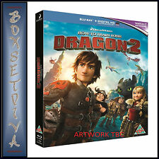 HOW TO TRAIN YOUR DRAGON 2  ***BRAND NEW BLU-RAY **