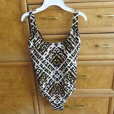 Women's Jantzen one piece animal print bathing/swim suit size 6 new NWT $116