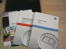 VW PASSAT HANDBOOK PACK OWNERS MANUAL  2012-2015 INC SAT NAV GEN2