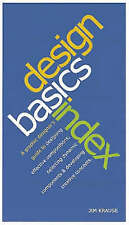 Design Basics Index, Very Good Condition Book, Krause, Jim, ISBN 9780715320532