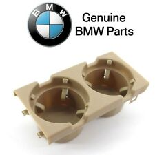 For BMW E46 Cup Holder Beige Center Console Cubby Cupholder Can Bottle Holding
