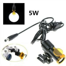 Dental Medical 5w Led Head Light Filter Insert Type For Loupes Without Battery