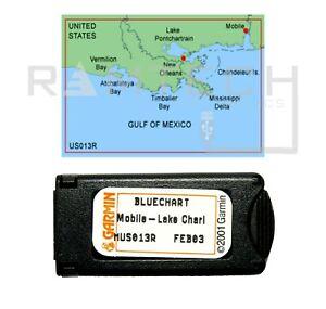 Garmin BlueChart MUS013R Mobile-Lake Charles Data Card Marine Chart 010-C0027-00