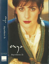 ENYA ANYWHERE IS CASSETTE SINGLE Electronic Modern Classical, Ambient