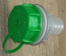 Tankanschlusstutzen mit Schlauchtülle 40mm für Wassertanks Wohnwagen, Boote