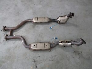 2003-04 Ford Mustang SVT Cobra OEM Catalytic Converters and H Pipe 060