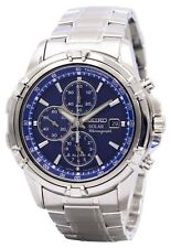 Seiko Solar Chronograph Alarm SSC141P1 Men's Watch