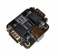 Neu Mini 2x Amiga C64 DB9 Freude Joystick Zu PC Emulator USB Adapter Winuae #827