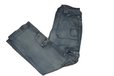 Mens Diesel Jeans Cargo Distressed Look 34x32 Button Fly