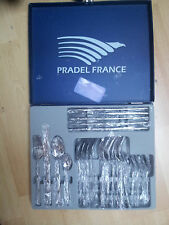 PRADEL - V.139.90€ MENAGERE INOX 24 PIECES COLLECTION OPALE NEUVE*
