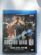 DOCTOR WHO SERIES SEVEN, PART ONE(2012)LBX(BRAND NEW BLUE RAY DISC) WARNER