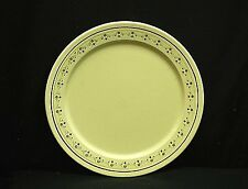"""Vintage 12-3/8"""" Serving Tray Platter Plate Brown & Green Abstract USA Unknown Mk"""