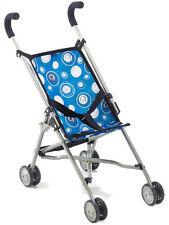 Bayer Chic 2000 Puppenbuggy Roma blau Buggy Puppenwagen für Jungs Kleinkinder