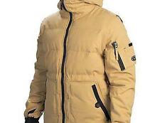 686 Surface Infiloft Snowboard Jacket (L) Sand Herringbone Dobby