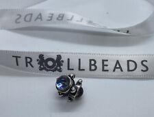 "Authentic Trollbeads""Trinity"" Bead 00100 Genuine Laa Sterling Silver"