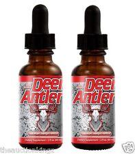 2 x Deer Antler Velvet  IGF-1 Extract Spray 2OZ Maximum Strength Testosterone