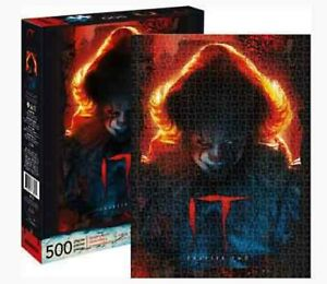 500 piece Puzzle Horror Movie 'IT - Chapter 2' PENNYWISE Licensed by AQUARIUS