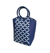 Sachi Insulated Style 229 Lunch Tote Bag With Ring Handle - Moroccan Navy
