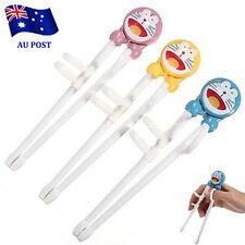 Children Kids Cartoon Doraemon Training Helper Learning Beginner Chopsticks BO