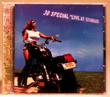 Live at Sturgis by .38 Special (Rock) (CD, Nov-1999, CMC International)