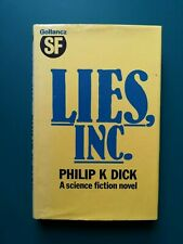 Philip K. Dick, Lies Inc., Gollancz Science Fiction, 1984, 1st Edition, DJ