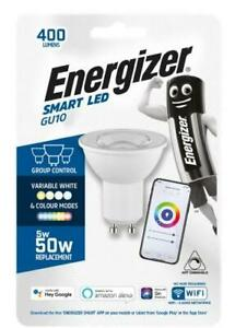Energizer Smart GU10 - 5W LED - Colour Changing Bulb - 400LM - Alexa - Google