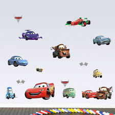 NEW Disney Cars For Kids/Children Wall Decor Vinyl Decal Stickers Removable
