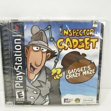 Inspector Gadget: Gadget's Crazy Maze (Sony PlayStation 1, 2001) PS1 - NEW