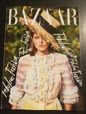 HARPER'S BAZAAR 3/19 Mode James Baldwin Softleder Shopper Federn Pumps Frühjahr