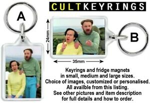 Mulligan and O'Hare keyring / fridge magnet - The Smell of Reeves and Mortimer