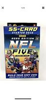 2020 Panini NFL Five Trading Card Hanger Pack - 55 Card Starter Deck - IN HAND!