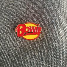 "David Bowie ""BOWIE"" 1"" Metal/Enamel Pin"