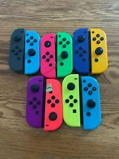 Lot Of 10 Nintendo Switch Joy-Con Controllers For Parts Not Working
